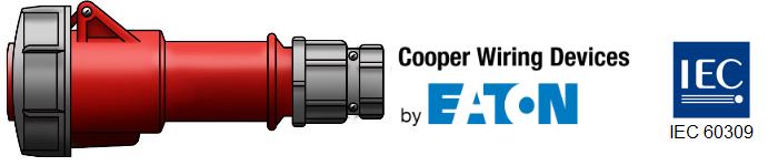 220//415V,4P//5W Cooper # AH516P6W Red IEC 309 516P6W Plug 16A