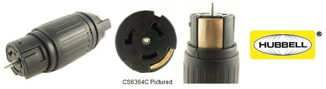 Hubbell 50A Twist-Lock® Plugs and Connectors | California Style, CA  Standard 50 Amp ConnectorLocking Power Cords