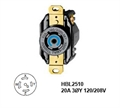 Picture of Hubbell L21-20R Twist-Lock® Receptacle Rated for 20A/3ØY 120/208V